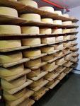 im Käsekeller pflegen und reifen lassen