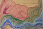 Kleisterfarbenstudie/1989/29,7x21,0/3S50-0324