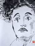 Clownfrau - Sumi-e