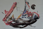Abstraktion/16.2.1986/62,5x43,5cm/ ID: 8S65-0998