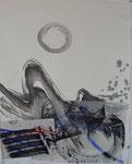 Collage, Zen-Kreis/49,0x62,0cm/ ID: 3S67-342,1