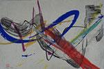 Abstraktion/1990/34,2x23,0cm/ ID: 9S43-1116