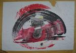 Collage auf Packpapier/95,0x65,0cm/ ID: 7S56-0883