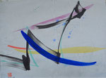 Abstraktion/1989/31,0x23,0cm/ ID: 9S42-1115
