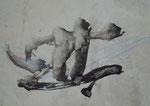 Vorderseite: Kalligraphie, sumi-e/24,0x18,0cm/ Rückseite: Zen-Kreis, ohne Foto/ ID: 8S114-1047