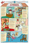 Bücherläusemagazin Nr. 1 Poster Steckbriefe der Bücherläuse