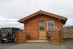 unsere Hütte am Myvatn (mit Fußbodenheizung!), hier waren wir drei Nächte
