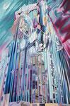 Fuerza Mayor 2011, Acryl auf Leinwand, 200x133cm