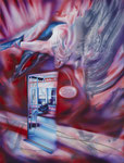 Rescate Emocional 2011, Acryl auf Leinwand, 147x112cm