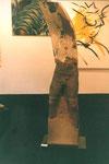 Mann, lebensgroß  (Keramik beklebt) verkauft/sold