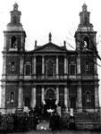 Костел св. Анны. Находился на месте сегодняшней школы №1. Разрушен в 1936 году.