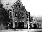 Первый вокзал станции Проскуров, начало 20-го века.