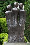 Umschlungen | Bronze | Aufl. 12 | 126 cm