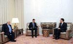 أمام السيد الرئيس بشار الأسد السيد ميلاد عطية يؤدي اليمين القانونية سفيرا لسورية لدى السويد - 05.01.2011