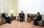 أمام السيد الرئيس بشار الأسد الدكتور عبد اللطيف الدباغ يؤدي اليمين القانونية سفيرا لسورية لدى الإمارات العربية المتحدة - 05.01.2011
