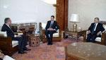 السيد الرئيس يلتقي السيد ابو رجب - 26.08.2003