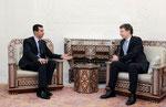 الرئيس الأسد يتلقى رسالة شفهية من المستشارة الألمانية انجيلا ميركل