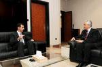 الرئيس الأسد يستقبل مدير المشفى السوري اللبناني في مدينة ساوباولو - 11.07.2010