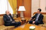 الرئيس الأسد يستقبل النائب اللبناني وليد جنبلاط - 15.01.2011