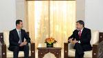 الرئيس الأسد يتقبل أوراق اعتماد سفير تشيلي الجديد بدمشق - 29.07.2010