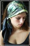 foulard porté