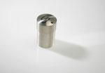 """Gesellenstück """"Salzstreuer"""" aus 925/- Silber mit Palladium-Einlage"""
