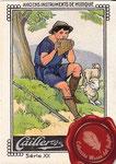 1920 ca. Cailler's chocolat au lait - Le flute de pan/Die panflote nº7