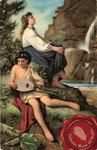 1926 Tañedor de mandolina (A. Feuerbach)