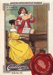 1920 ca. Cailler's chocolat au lait - Le clavecin/Das klavier nº12