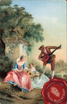 1944 Tiorbista con damas (N. Lancret)