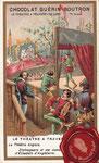 1900 ca. Chocolat Guérin-Boutron - Le théâtre anglais