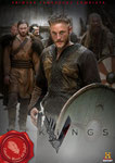 Vikingos (2013/Irlanda-Canadá/44 min.) · Título original: Vikings · Creador: Michael Hirst · Guión: Michael Hirst · Intérpretes: Travis Fimmel, Clive Standen, Jessalyn Gilsig, Gustaf Skarsgård