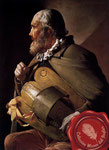 2000 ca. El zanfoñista ciego (G. de la Tour)