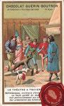 1900 ca. Chocolat Guérin-Boutron - Saltimbanques, monteurs d'animaux