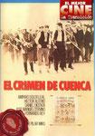 El crimen de Cuenca (1980/España/88 min.) · Director: Pilar Miró · Guión: Salvador Maldonado · Fotografía: Hans Burman · Intérpretes: Amparo Soler Leal, Héctor Alterio, Fernando Rey, Daniel Dicenta