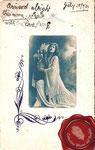 1904 Mujer con lira griega