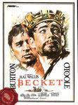 Becket (1964/GB/140 min.) · Director: Peter Glenville · Guión: Edward Anhalt · Intérpretes: Peter O'Toole, Richard Burton, John Gielgud, Donald Wolfit