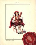 1840 Musicien joueur de théorbe (Bearn)