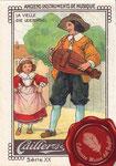1920 ca. Cailler's chocolat au lait - La vielle/Die Leierorgel nº8