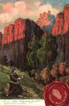 1911 Bardo con lira románica