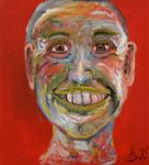 Patrick, Acryl auf Holz, 38 x42 cm, 260 €
