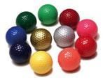 Bunte / farbige Golfbälle