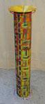 """102x25 (175 suspendue) """"Balise"""" métal-scoubidous-peinture-vernis-autre  2012"""