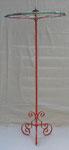 """153x65 """"Albert1"""" métal-scoubidous-verre-peinture-vernis 2012"""