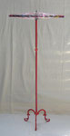 """147x65 """"Albert2"""" métal-scoubidous-verre-peinture-vernis 2012"""