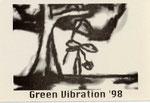 Green Vibration 作品展 1998(Design:稲見 悠太)