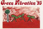 Green Vibration 作品展 1995(Design:稲見 明子)