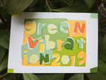 Green Vibration 作品展 2019(Design:内村 航)