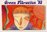 Green Vibration 作品展 1993(Design:金井 勝)
