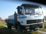 Le camion arrive